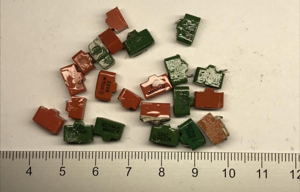 Конденсаторы пластмасса К10-9,17,23