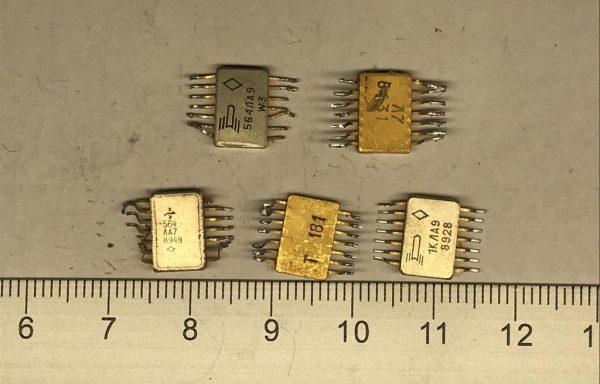 Микросхема 564 гробик 14 ног б\у