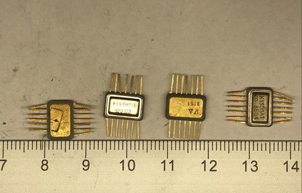 Микросхема 133 с одной подложкой 14 ног новая