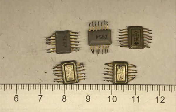 Микросхема 133 без подложкой 14 ног б/у