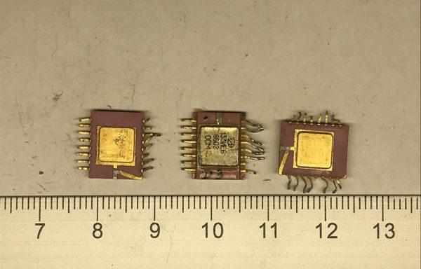 Микросхема 564 с одной подложкой 16 ног б/у