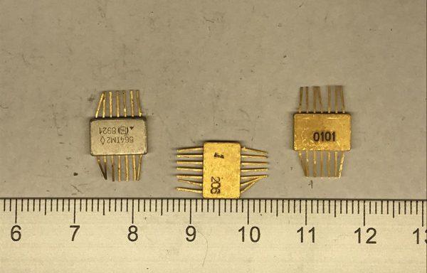 Микросхема 564 гробик с подложкой 14 ног новая