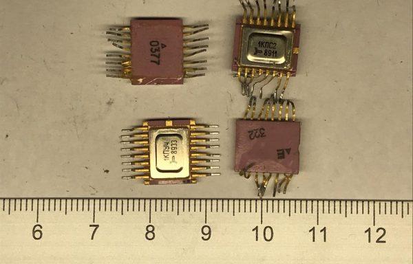 Микросхема 564 без подложки 16 ног б/у