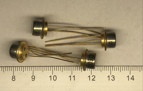 Транзистор КТ601,603,605,608 новые